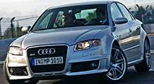Audi RS4 Tailored Boot Mat
