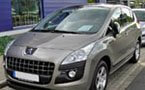 Peugeot 3008 Tailored Boot Mat